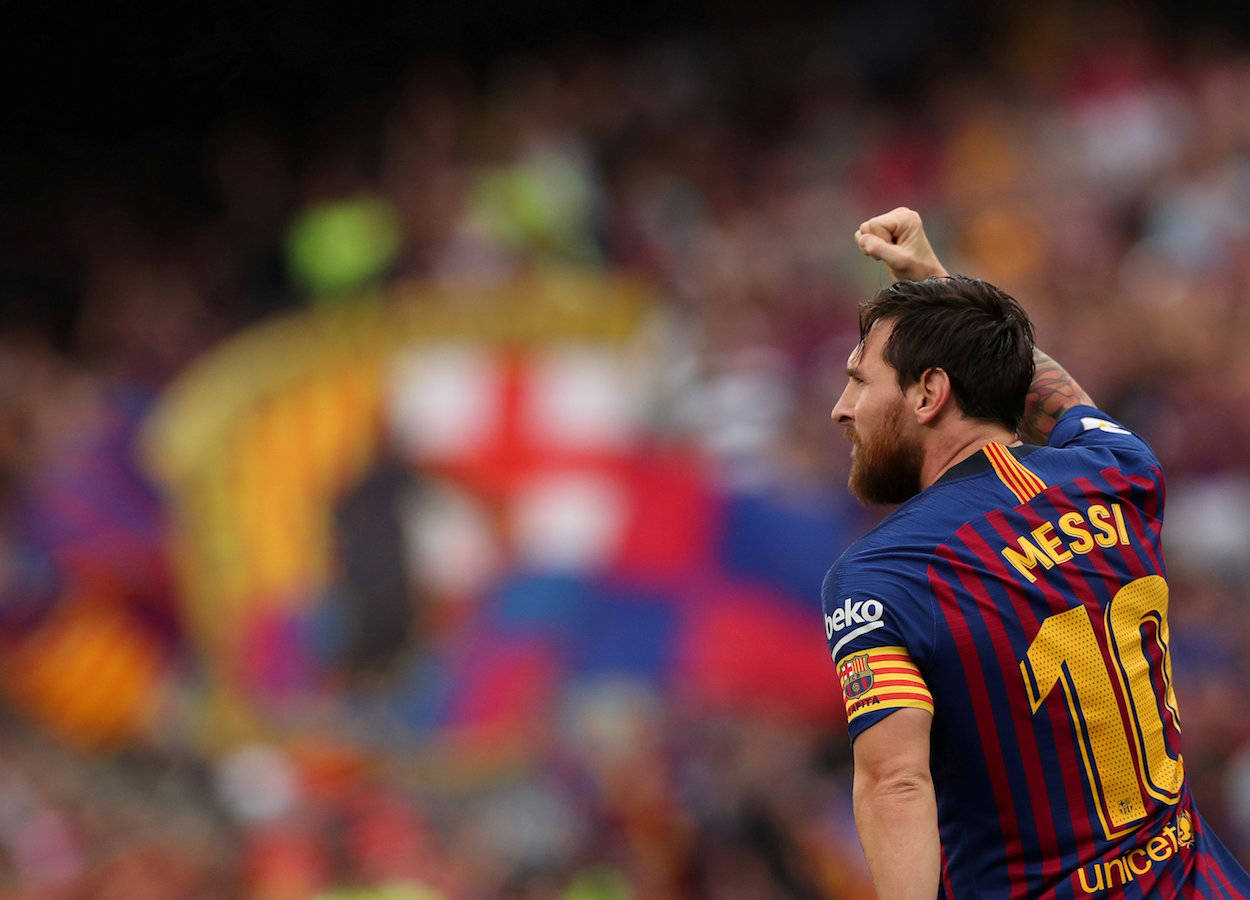 Statistically, Messi is the king of assists in La Liga