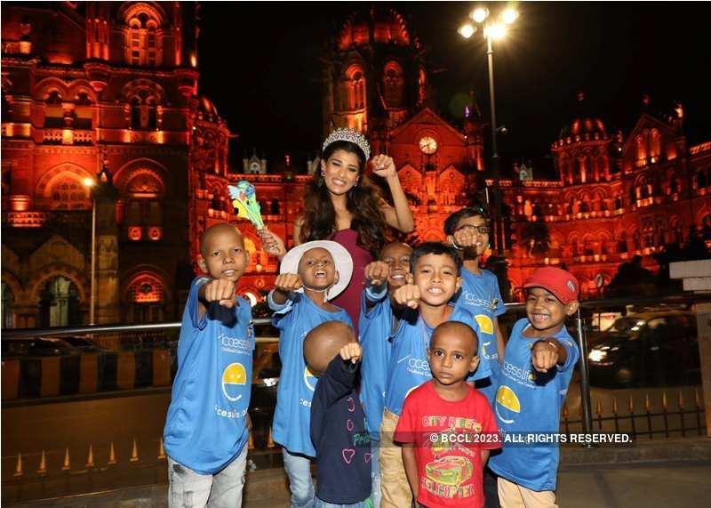 Nehal Chudasama attends International Childhood Cancer Awareness Program 
