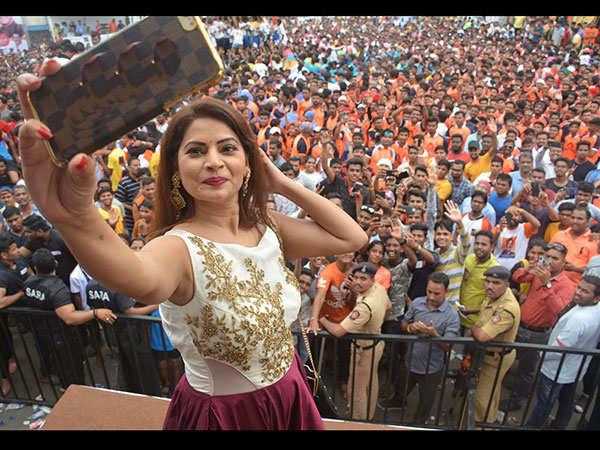 marathi-big-boss-winner-megha-swami-prathisthan-bjp-(1)