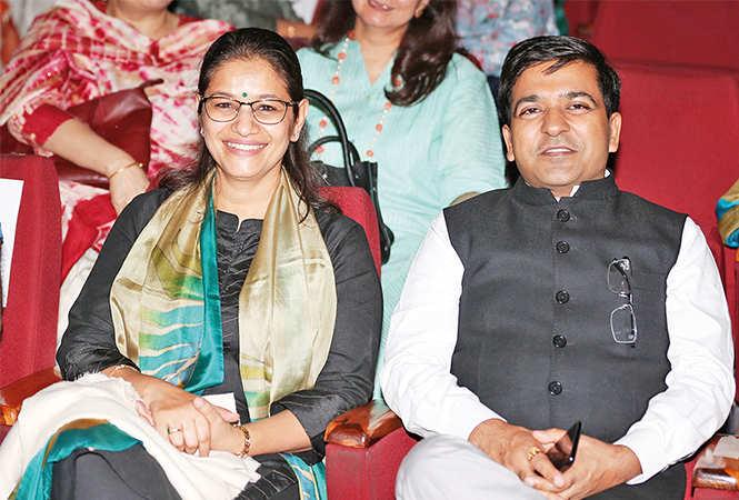 Saloni (L) and Ashish Goyal (BCCL/ Aditya Yadav)