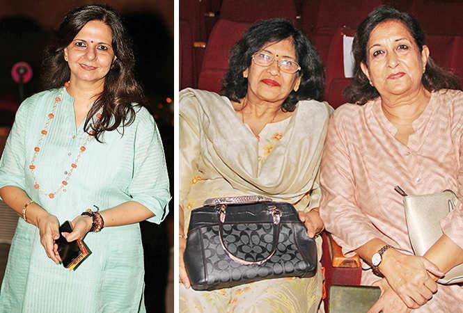 (L) Namita Prasad (R) Meenu Kapoor and Shakun Prakash (BCCL/ Aditya Yadav)