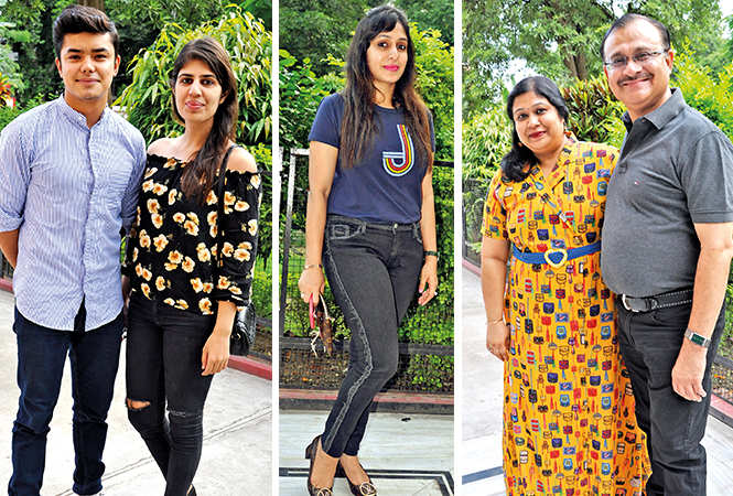 (L) Rajat and Yamini (C) Ruchi (R) Shalini and Sanjay (BCCL/ AS Rathor)