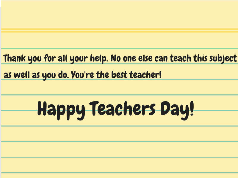 Happy Teachers Day 2019 Greeting Cards Quotes Thoughts