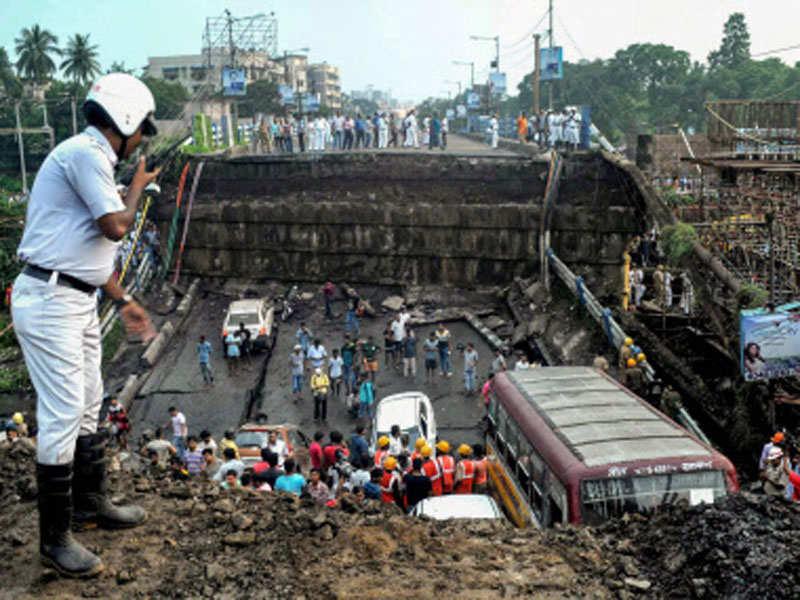 Kolkata Majerhat Bridge collapse: What's wrong with India's bridges