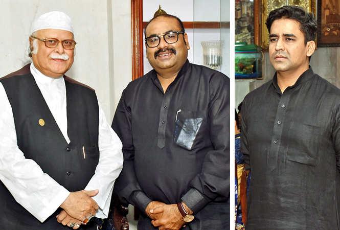 Nawab Jafar Mir Abdullah and Dr K Bazmi Yunus (R) Safi Yunus (BCCL/ Vishnu Jaiswal)