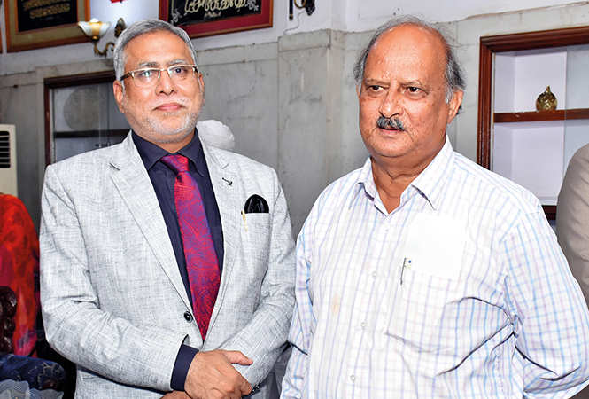 Prof Mahrukh Mirza and Rizwan Ahmad  (BCCL/ Vishnu Jaiswal)
