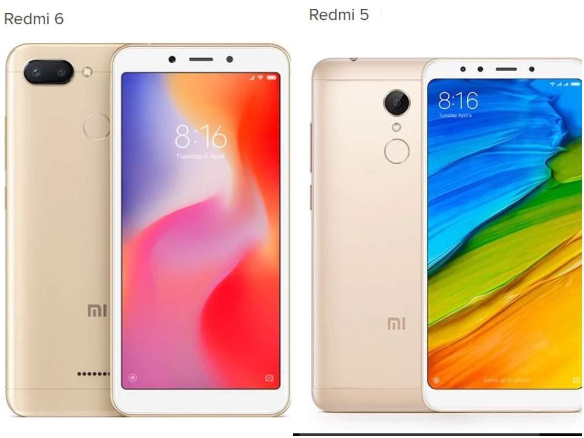 Xiaomi Redmi 6 Vs 5 Heres Whats New Mobiles News Mi 3 32 Gb Silver Gadgets Now