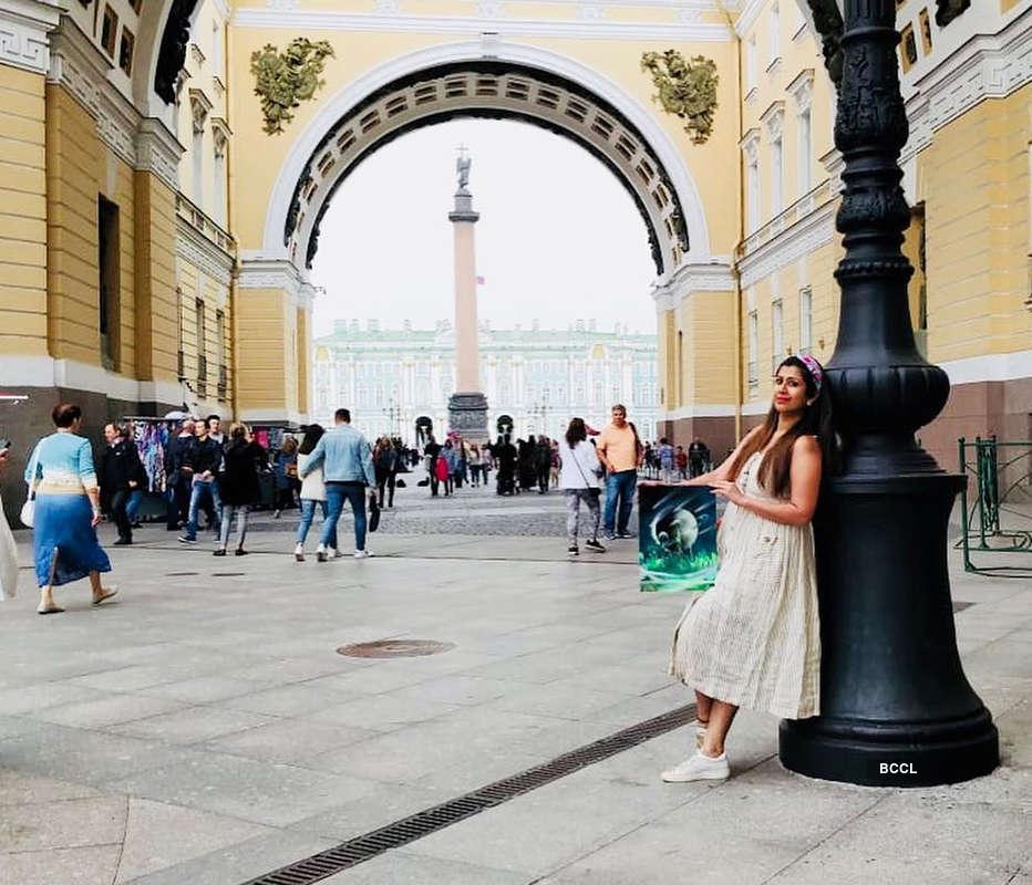 Ankita Bhargava holidays in Russia without hubby Karan Patel
