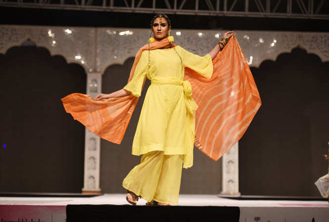 Decked up in khadi