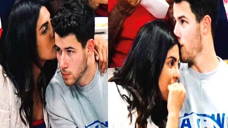 Priyanka Chopra and Nick Jonas' candid pictures from the US Open goes viral