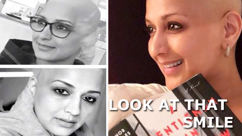Sonali Bendre's smile in her latest pic is contagious