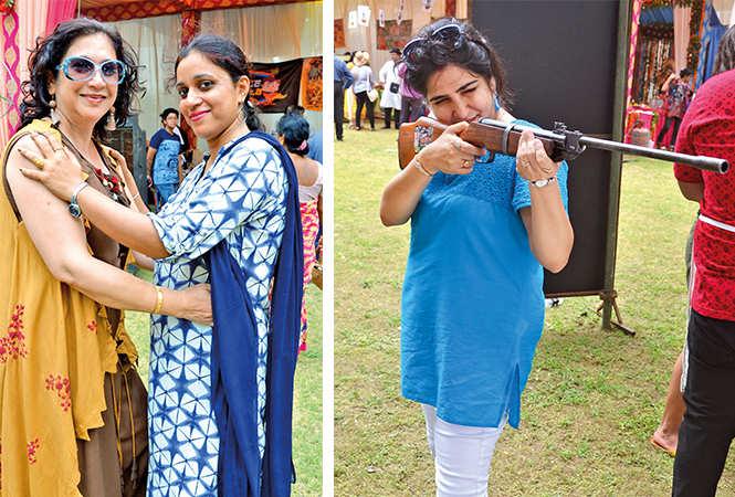 (L) Navita and Kiran (R) Vinti (BCCL/ IB Singh)
