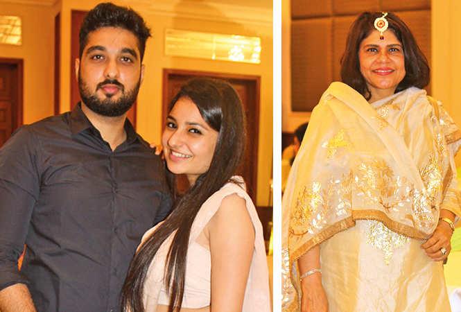 (L) Shrey and Sanya (R) Bharti Madhok (BCCL/ Arvind Kumar)
