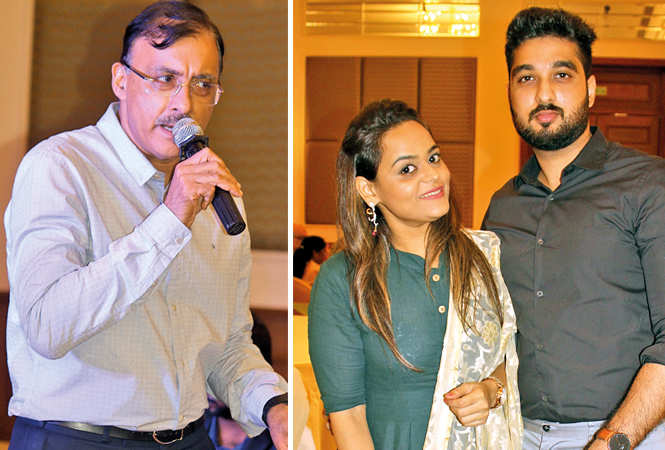 (L) Deepak Madhok (R) Hiri and Shrey (BCCL/ Arvind Kumar)