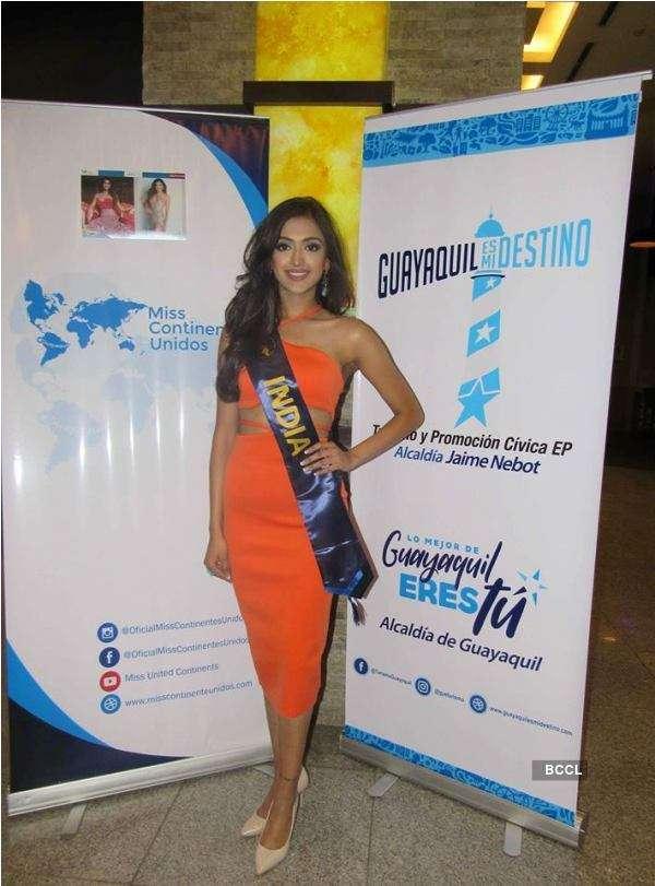Gayatri Bhardwaj's journey at Miss United Continents 2018