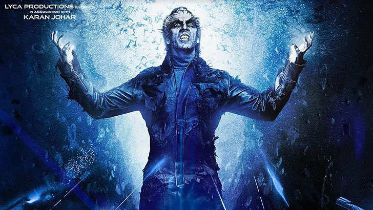 Akshay treats fans with fresh poster of '2.0'