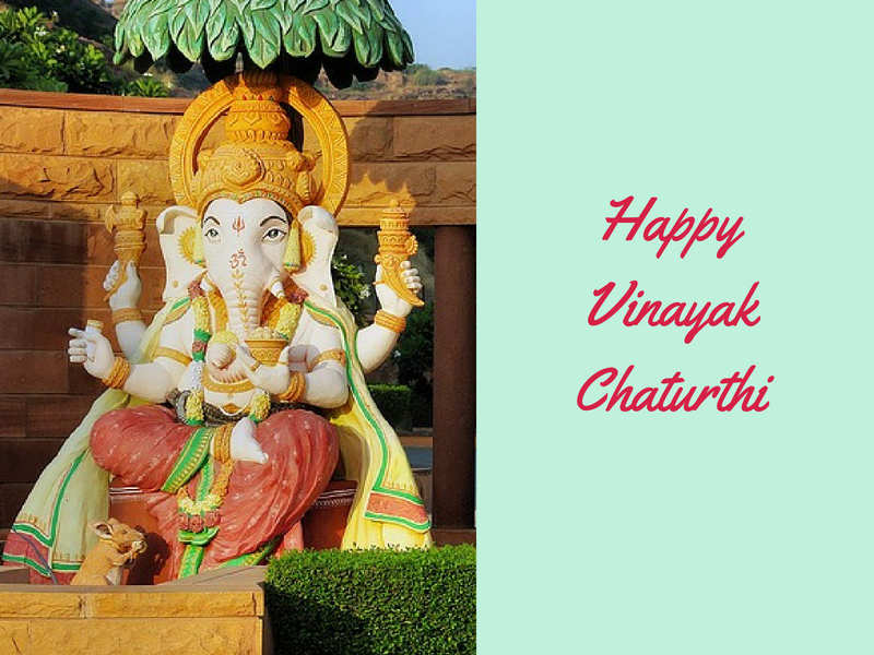 Happy Vinayaka Chavithi 2018 / Ganesh Chaturthi Pictures, Messages, Wishes