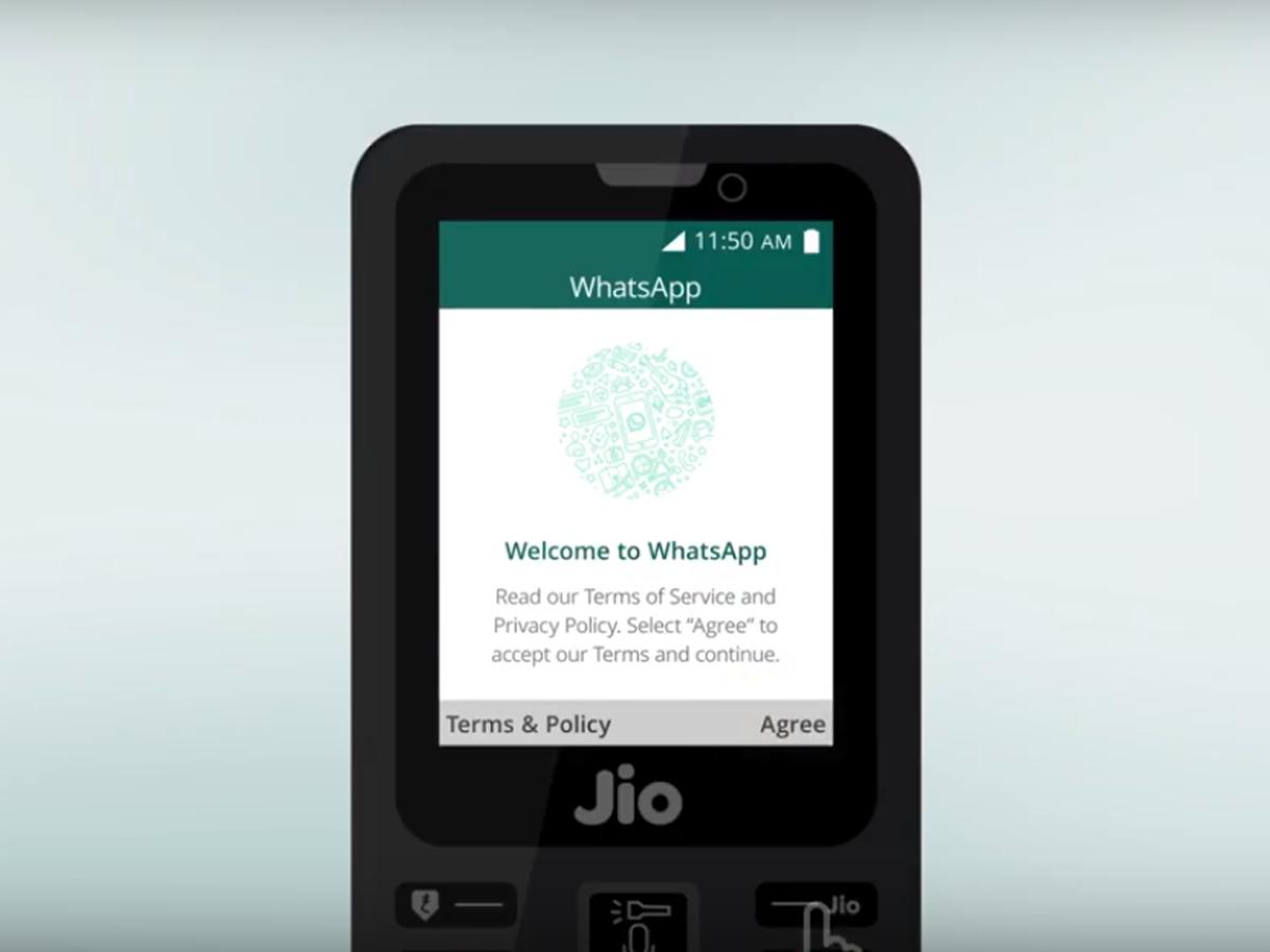 Jio Phone How To Download Whatsapp On Jio Phone Gadgets Now