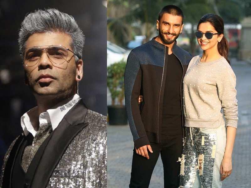 Did Karan Johar Just Confirm Ranveer Singh And Deepika Padukone S Wedding