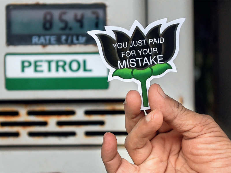Petrol climbs to ₹88.67 per litre in Mumbai, diesel at ₹77.82