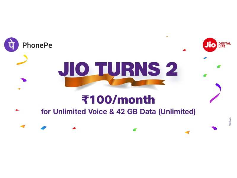 Reliance Jio's new anniversary offer: All you need to know