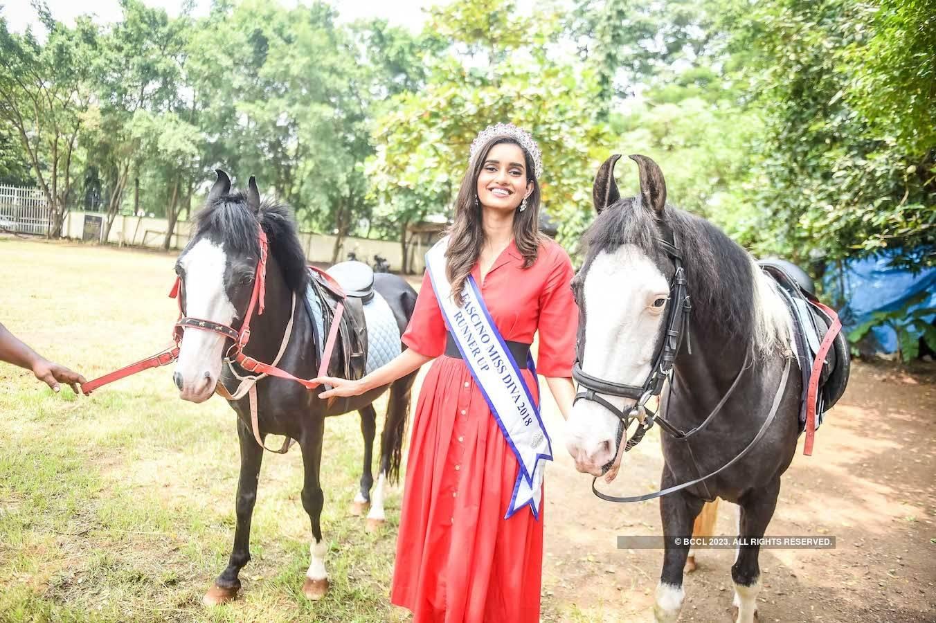 Yamaha Fascino Miss Diva 2018 Runner-Up Roshni Sheoran's homecoming