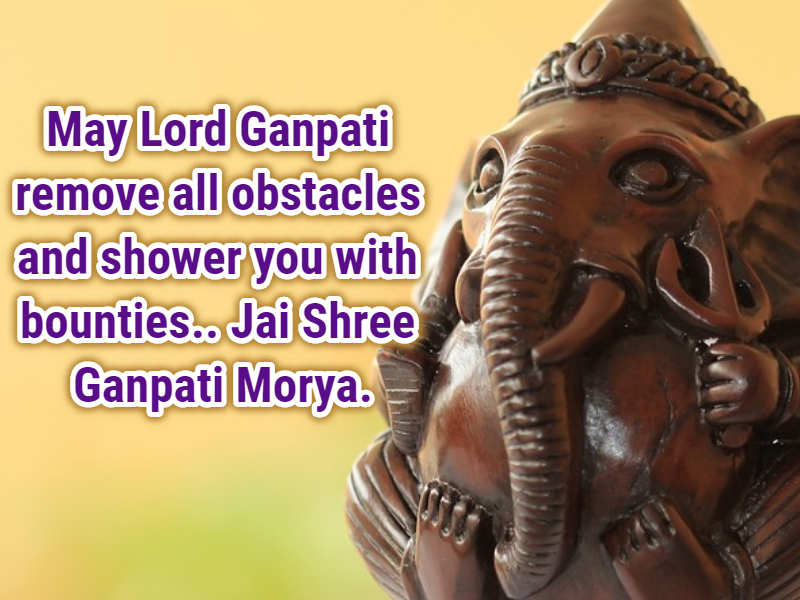 Ganesh Chaturthi 2018: Images, Status, Wishes, Quotes, SMS, Messages, Facebook Post, Whatsapp status, Happy Vinayaka Chavithi 2018