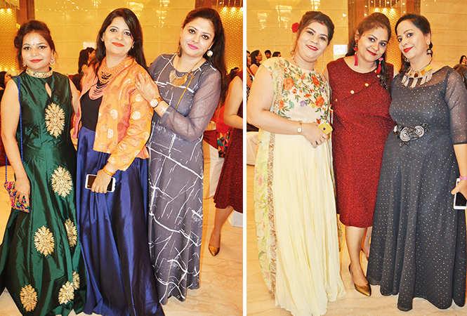 (L) Charanjeet, Arti and Harsimran (R) Deepti, Bhavna and Parul (BCCL/ IB Singh)