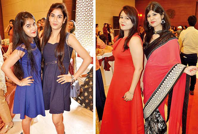 (L) Hina and Jyoti (R) Isha and Aditi (BCCL/ IB Singh)