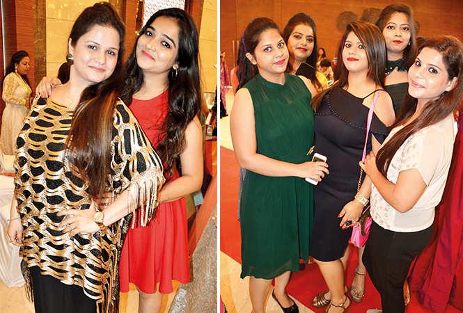 (L) Jasmeet and Simran (R) Khushboo, Rinni, Deepika, Akansha and Arpita (BCCL/ IB Singh)