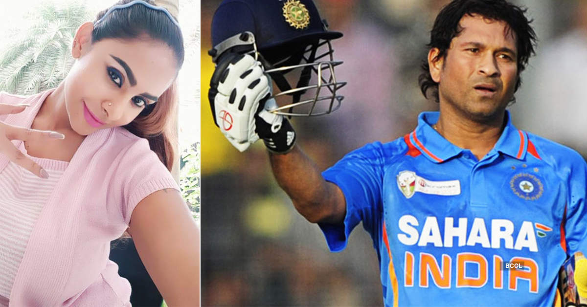 Sri Reddy targets legendary cricketer Sachin Tendulkar, gets trolled