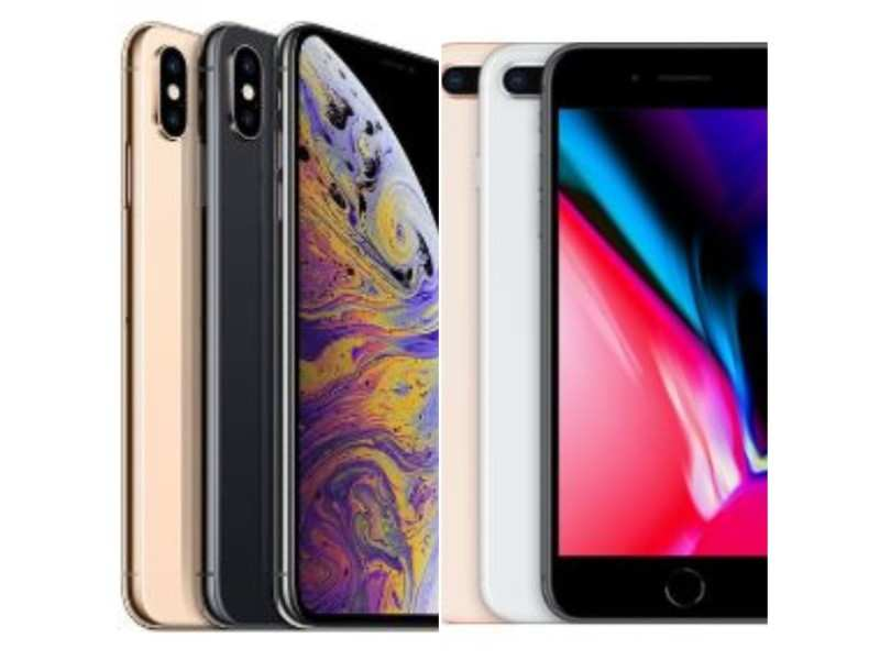 apple iphone 8 plus vs iphone xs