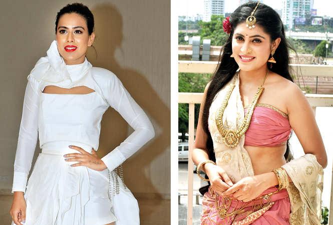 Nia Sharma (L) and Niya Shrma (BCCL/ Vishnu Jaiswal)