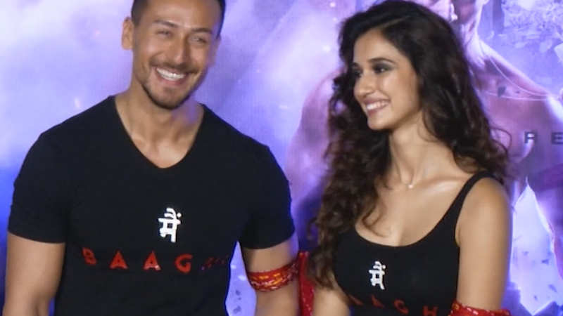 Tiger Shroff reacts on Hrithik Roshan-Disha Patani controversy