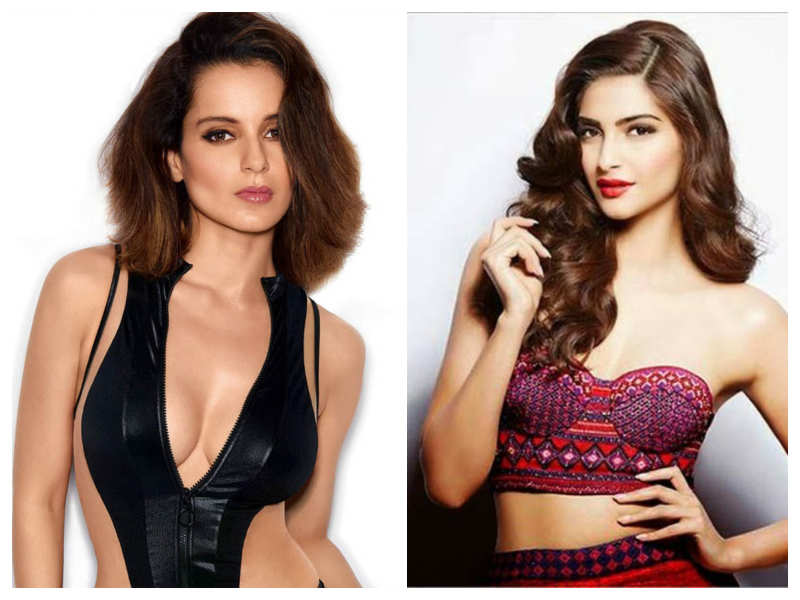 Here's why Sonam K Ahuja considers Kangana Ranaut as the troublemaker - Sonam Kapoor: Interesting statements by the actress  | The Times of India