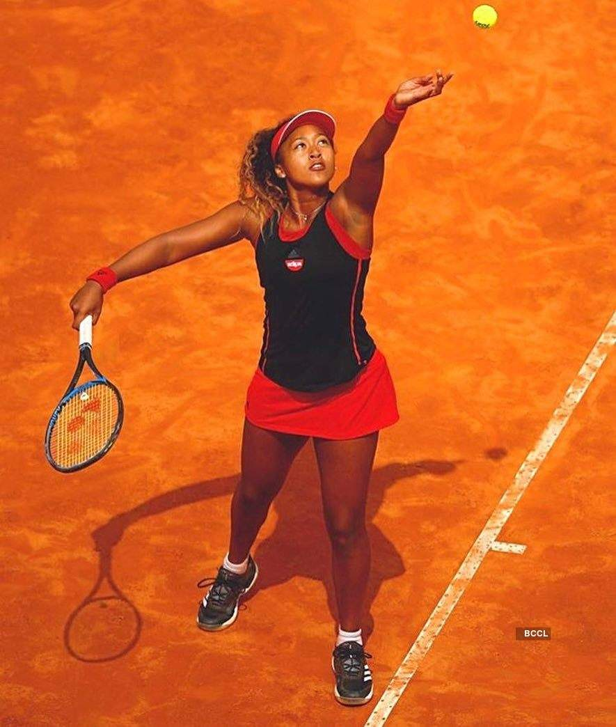 Stunning pictures of young tennis star Naomi Osaka