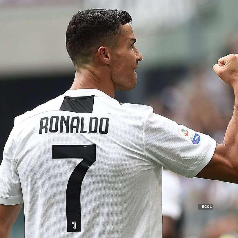 Ronaldo strikes twice in Juventus jersey