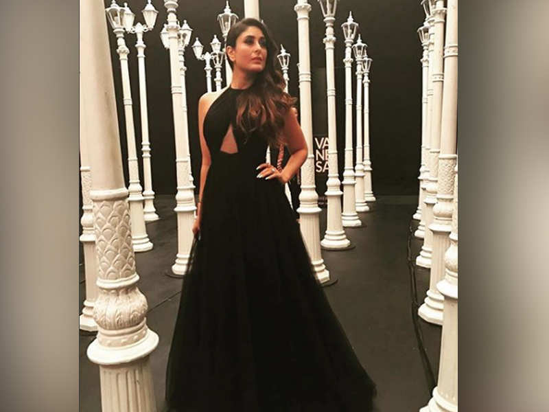 e7b83adf7d1 Photo  Kareena Kapoor Khan looks exquisite in a black gown