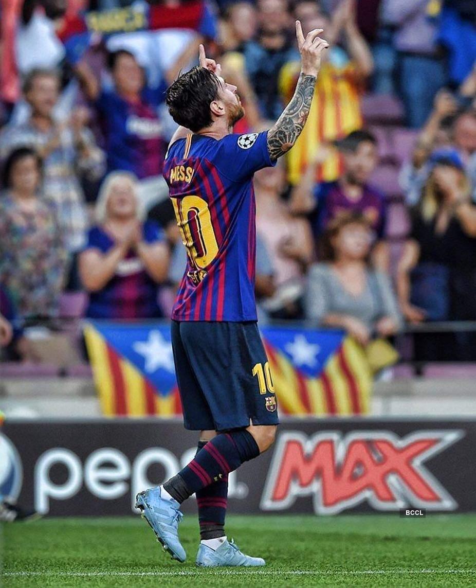 Messi strikes thrice in win over PSV