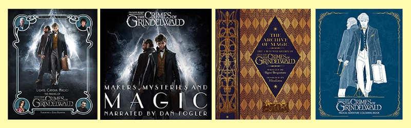 Fantastic beasts 2 books