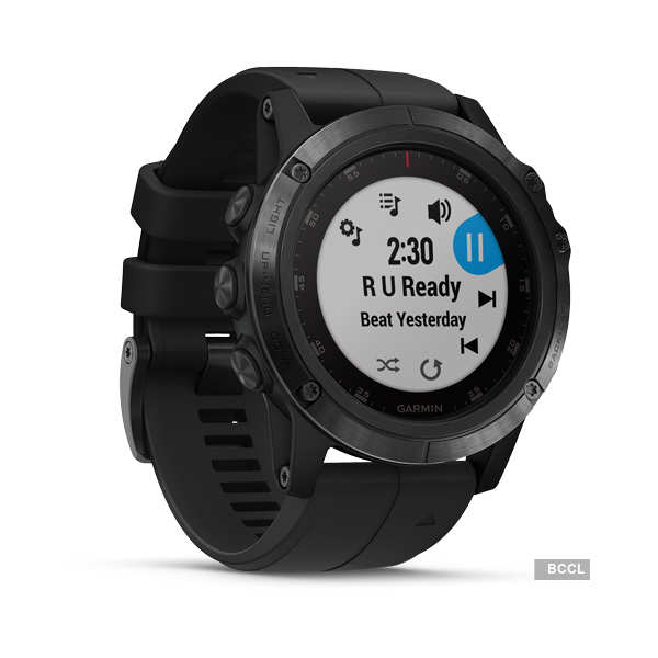 Garmin launches Fenix 5X Plus smartwatch