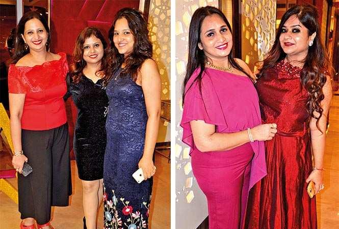 (L) Rashmi, Neetu and Richa (R) Sandhya and Charu (BCCL/ IB Singh)