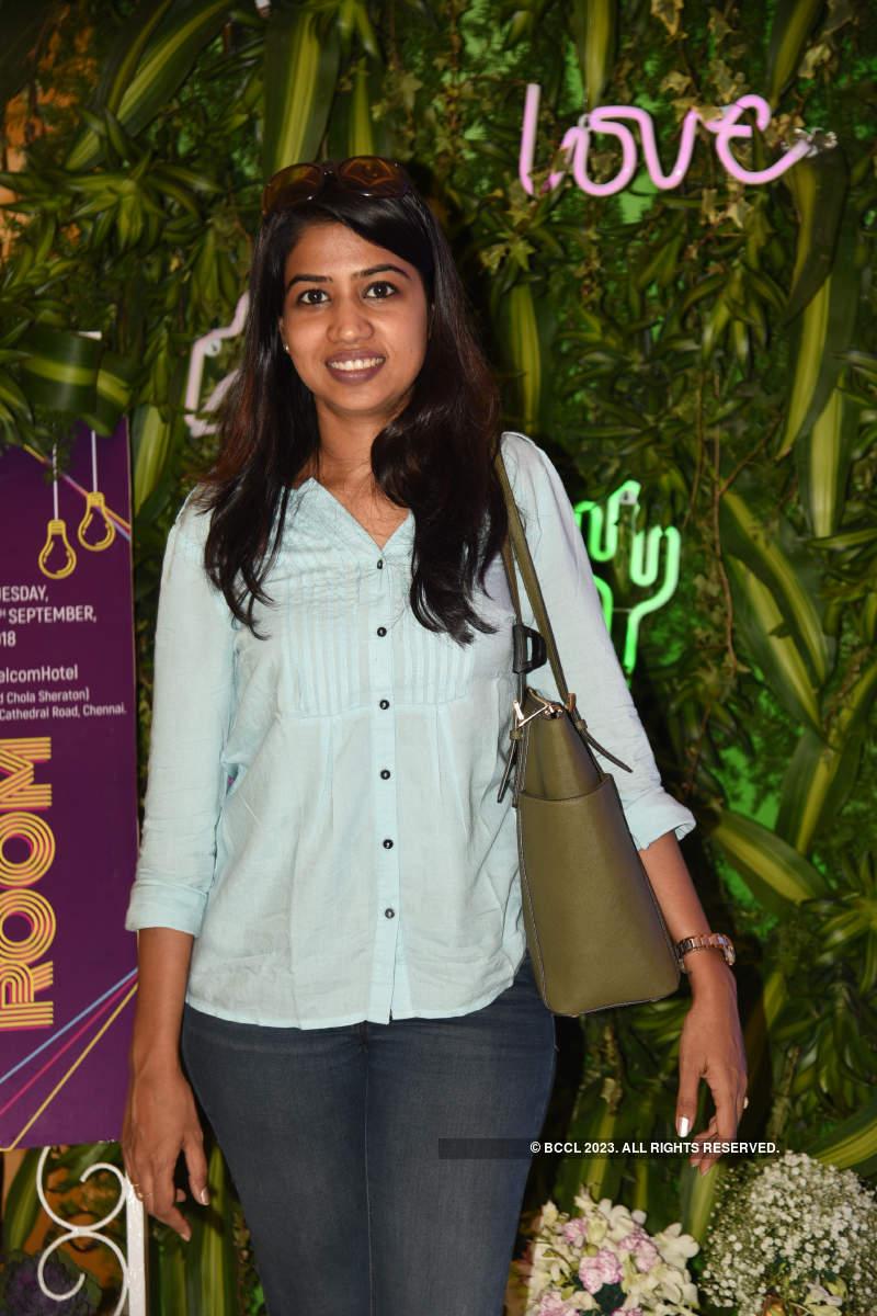 Chennaiites attend a pop-up show