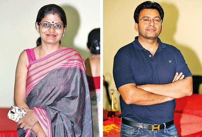 (L) Aparna (R) Avichal Kapur (BCCL/ Aditya Yadav)