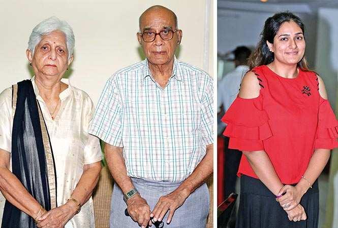 (L) Lata and LN Kapur (R) Rashi Dixit (BCCL/ Aditya Yadav)