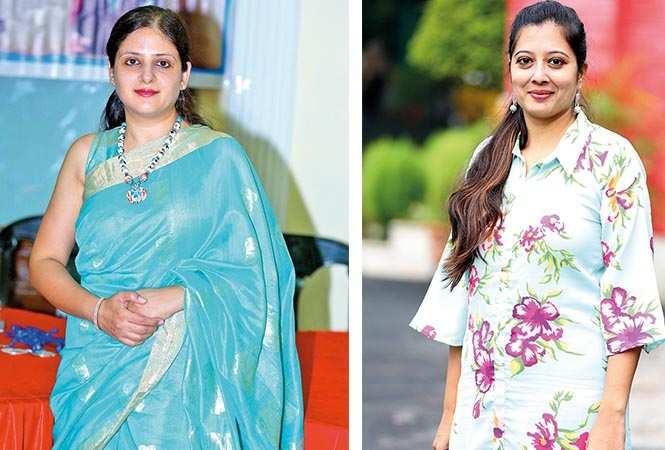 (L) Ruchi Kapur (R) Shatanshu Jaggi (BCCL/ Aditya Yadav)