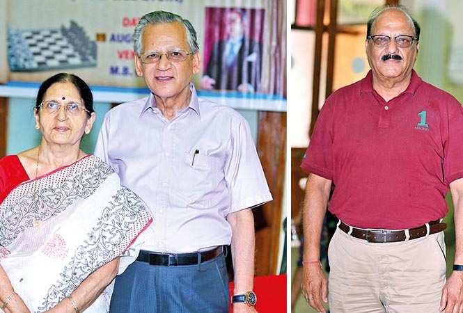 (L) Sarita Seth and NK Seth (R) SN Kapur (BCCL/ Aditya Yadav)