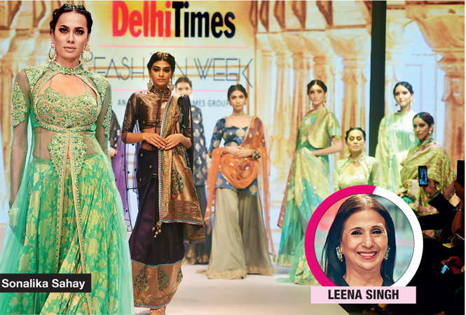 Royal flavour rules day 2 of Delhi Times Fashion Week