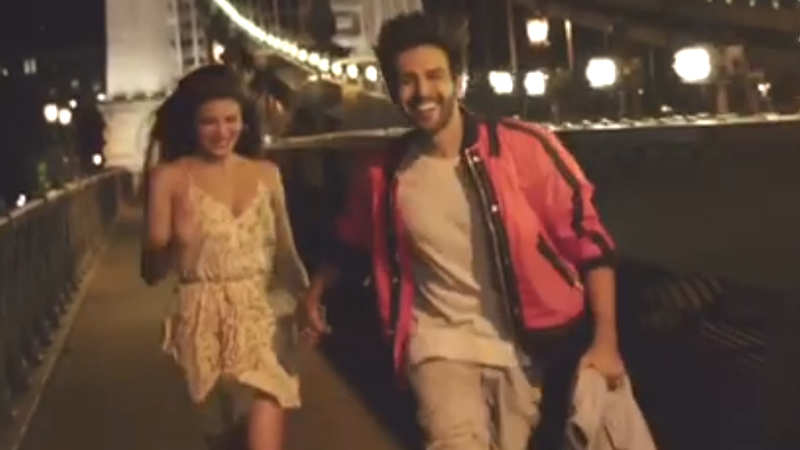 Kartik Aaryan and Jacqueline Fernandez share some magic moments in Budapest