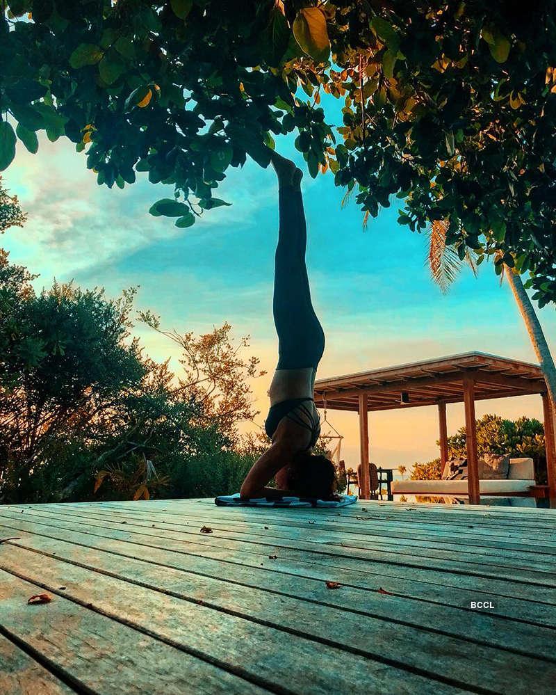 International Yoga Day 2020: Celebrities who love 'Yoga'